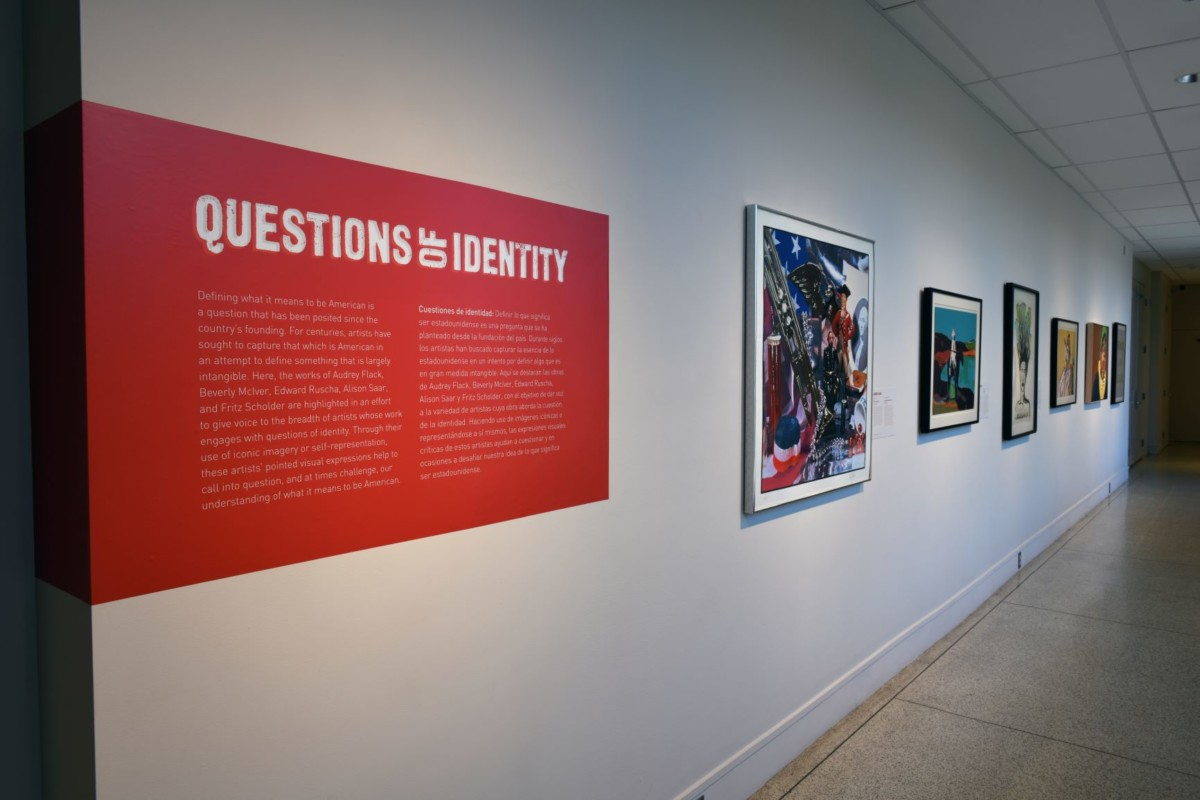 Questions of Identity exhibition at The San Diego Museum of Art