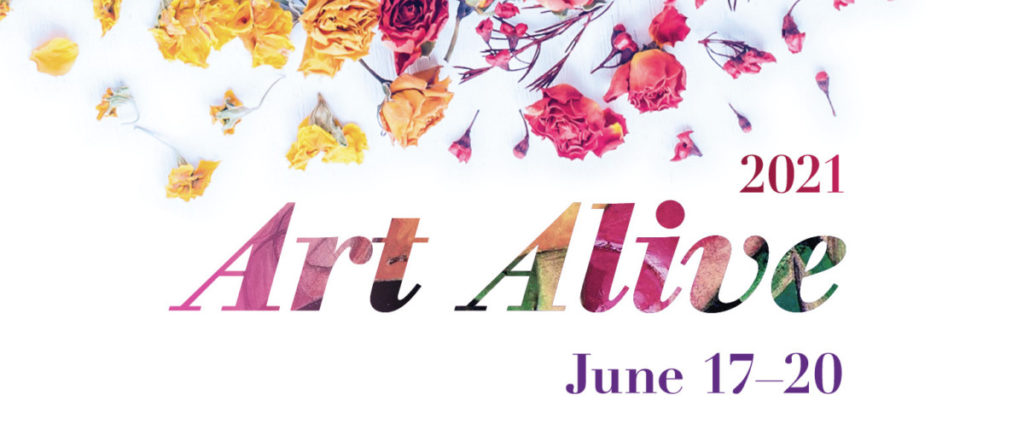 Art Alive 2021 is June 17-20, 2021, at The San Diego Museum of Art