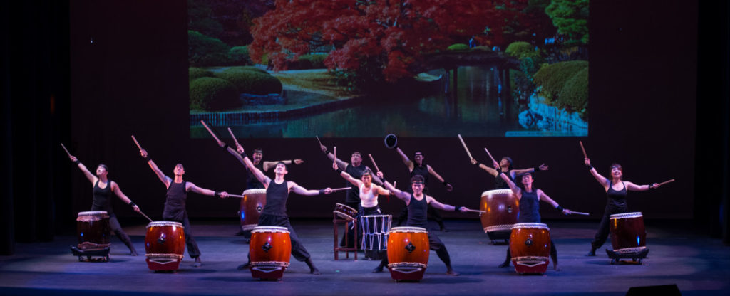 Naruwan Taiko performers on stage